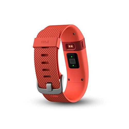 Fitbit Charge HR - Activity Tracker with Heart Rate Monitor - Small - Tangerine