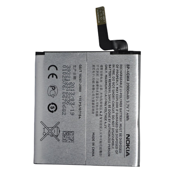 Original Nokia Lumia  720 Replacement Battery Pack BP-4GWA 2000mAh