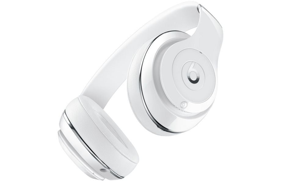 Beats by Dr. Dre Studio Noise-Cancelling Full-Size Bluetooth Headphones - Gloss White