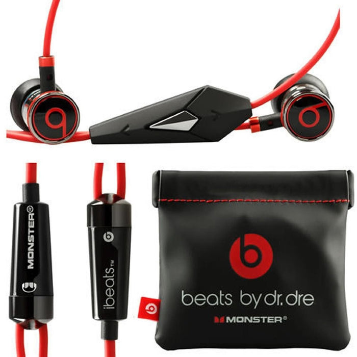 Monster iBeats by Dr. Dre In-ear Headphones - Black