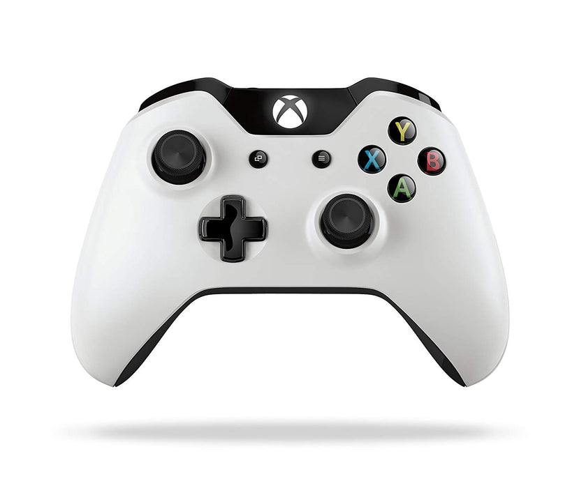 Official Microsoft Xbox One S Wireless Controller - Snowstorm White
