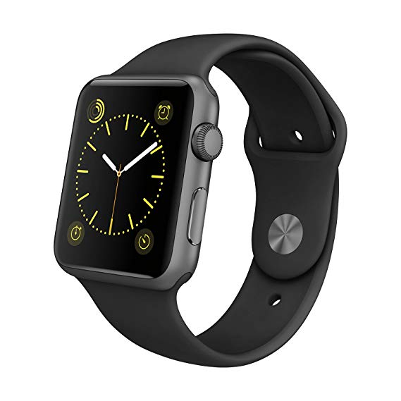 Apple Watch Strap 44mm Sport Band - Black