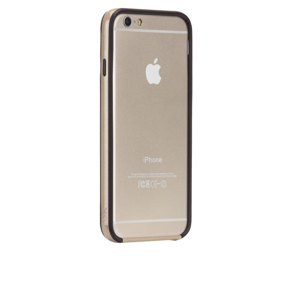 Case-Mate Tough Frame Case for Apple iPhone 6/6s in Champagne/Black