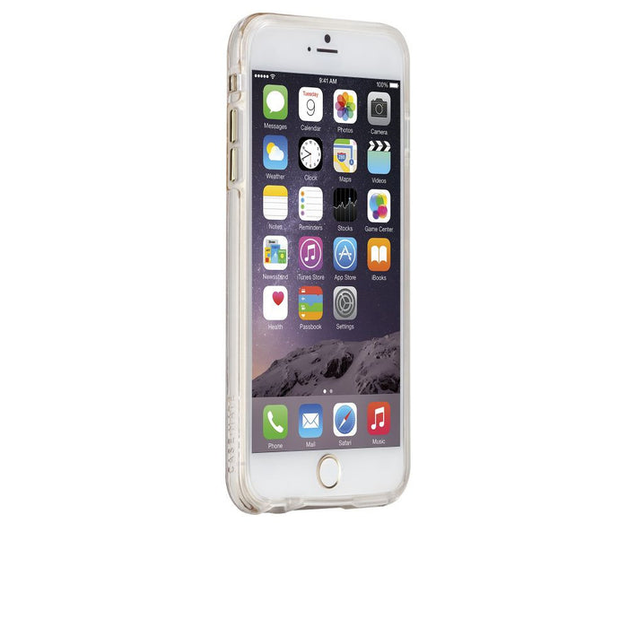 Case-Mate Karat Case for Apple iPhone 6 Plus/6s Plus in Clear/Gold