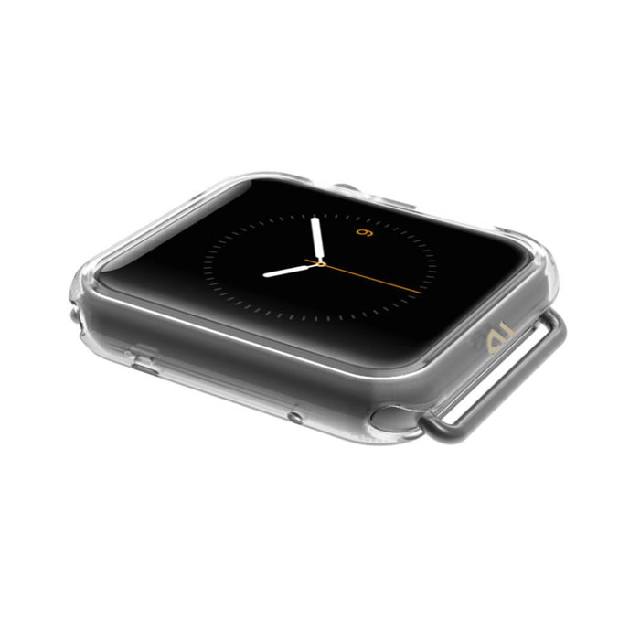 Case-Mate Naked Tough Bumper for 42mm Apple Watch in Clear