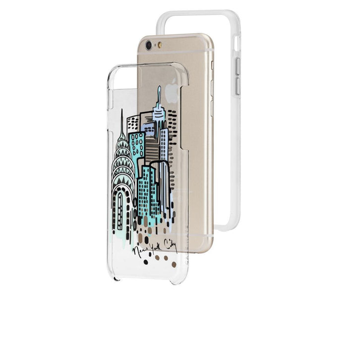 Case-Mate City Prints Case for Apple iPhone 6 Plus/6s Plus in City View Print