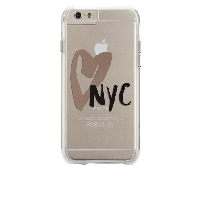 Case-Mate City Prints Case for Apple iPhone 6 Plus/6s Plus in I Heart New York Print