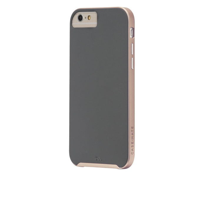 Case-Mate Slim Tough Case for Apple iPhone 6/6s in Grey/Rose Gold