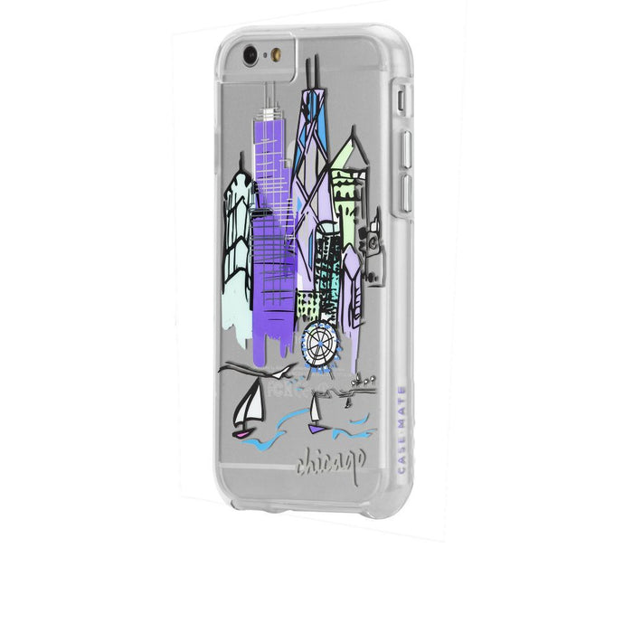 Case-Mate City Prints Case for Apple iPhone 6/6s in Chicago Print