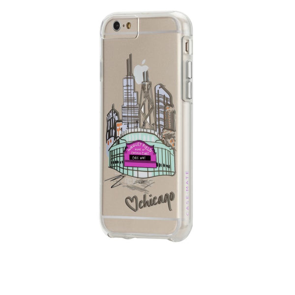 Case-Mate City Prints Case for Apple iPhone 6/6s in Chicago PlayBall Print