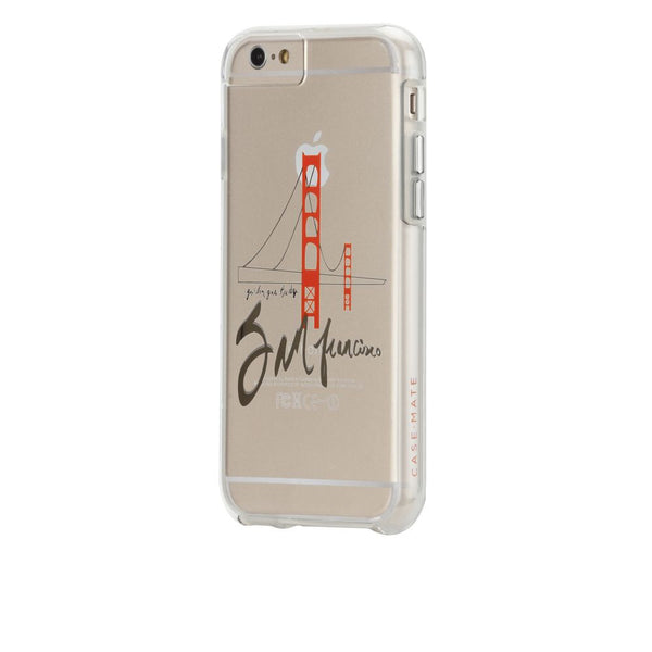 Case-Mate City Prints Case for Apple iPhone 6/6s in Golden Gate Print