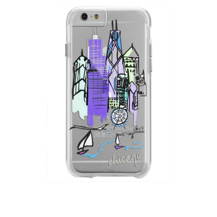 Case-Mate City Prints Case for Apple iPhone 6 Plus/6s Plus in Chicago Print