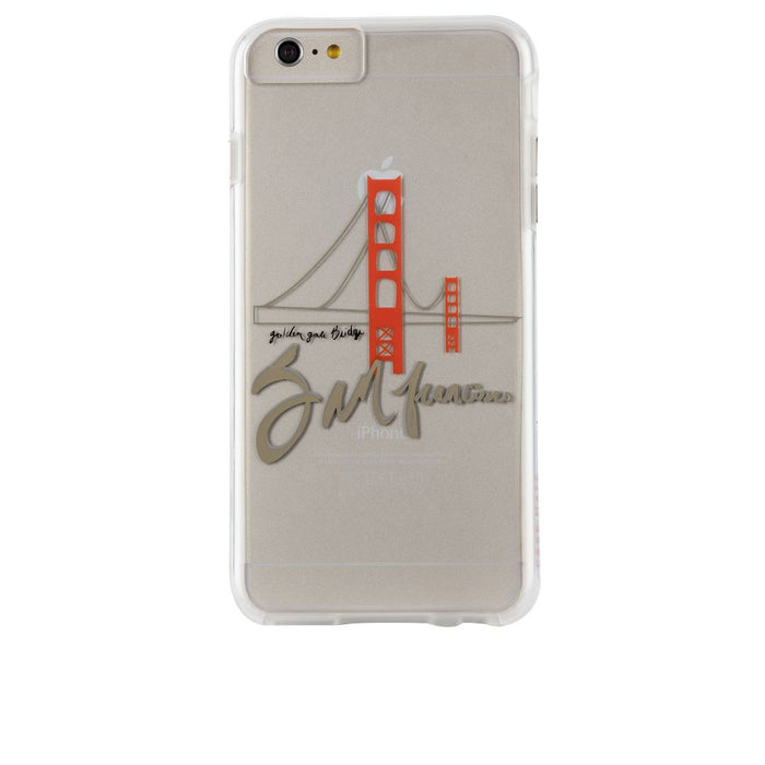 Case-Mate City Prints Case for Apple iPhone 6 Plus/6s Plus in Golden Gate Print
