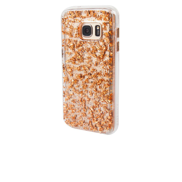 Case-Mate Karat Case for Samsung Galaxy S7 in Rose Gold