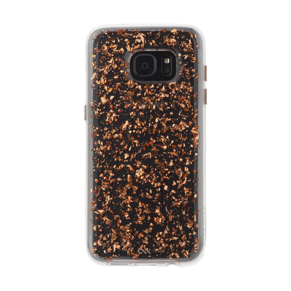 Case-Mate Karat Case for Samsung Galaxy S7 Edge in Rose Gold