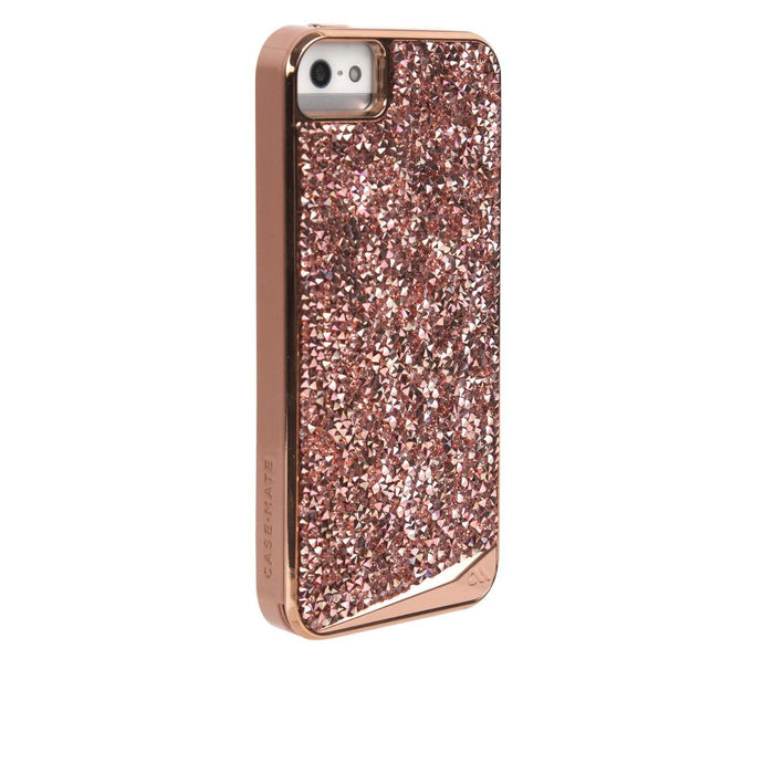Case-Mate Brilliance Case for Apple iPhone 5/5s/SE in Rose Gold
