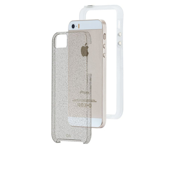 Case-Mate Sheer Glam Case for Apple iPhone 5/5s/SE in Champagne