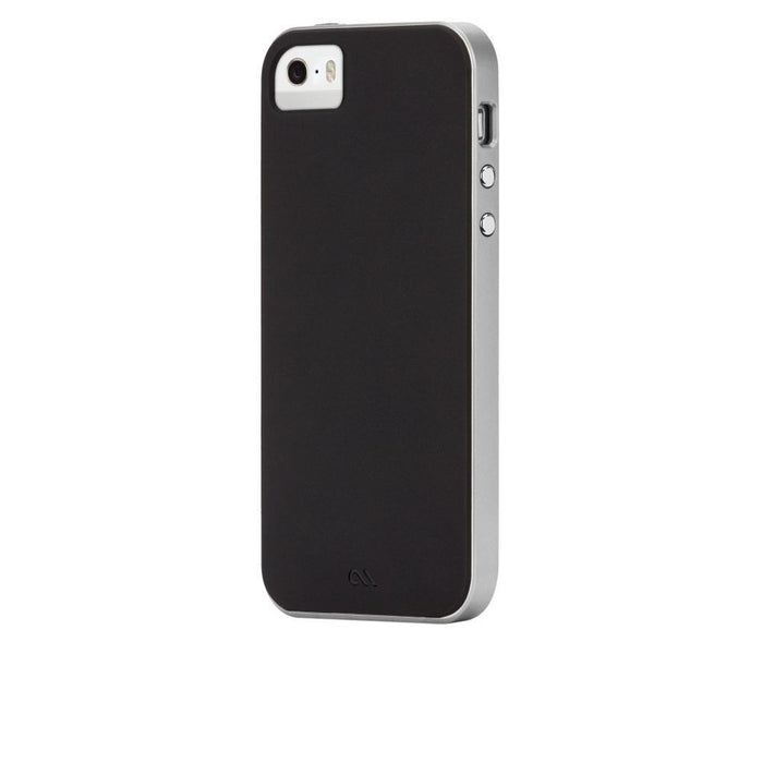 Case-Mate Slim Tough Case for Apple iPhone 5/5s/SE in Black/Silver