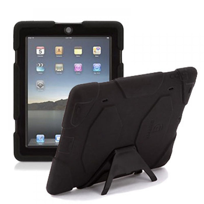Griffin Survivor All-Terrain Case with Stand for Apple iPad 2 & iPad 3 in Black