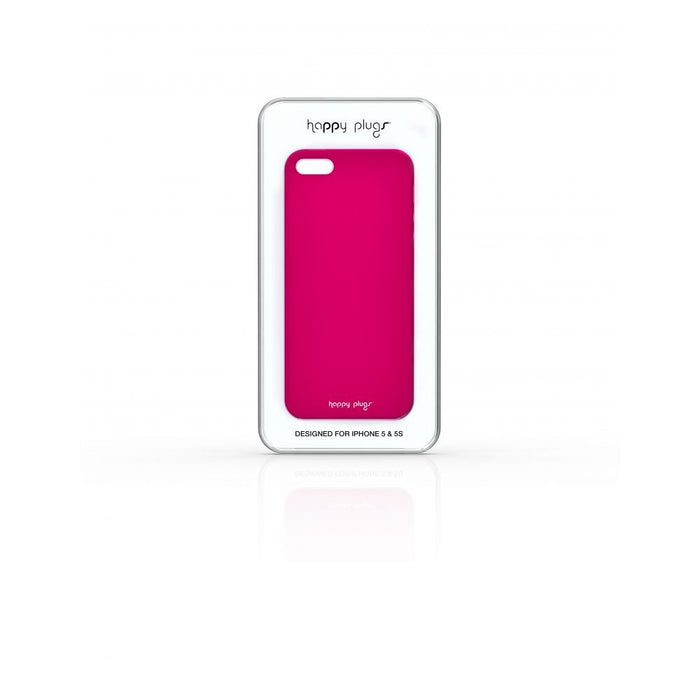 Happy Plugs Case for Apple iPhone 5/5s/SE in Cerise