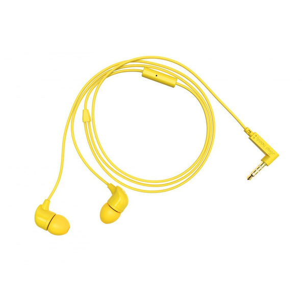 Happy Plugs In-Ear Earphones in Yellow
