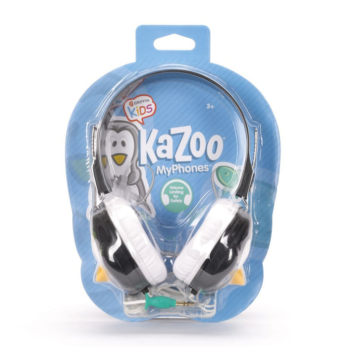 Griffin KaZoo MyPhones Headphones in Penguin