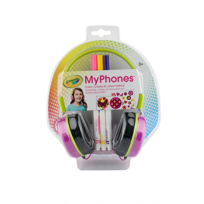 Griffin Crayola MyPhones Headphones in Pink / Girl