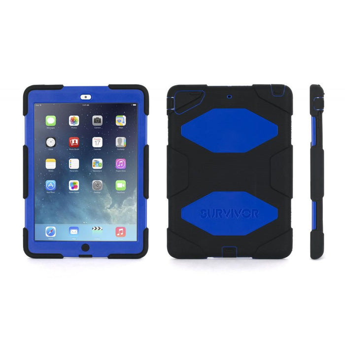 Griffin Survivor All-Terrain Case for Apple iPad Air in Black/Blue