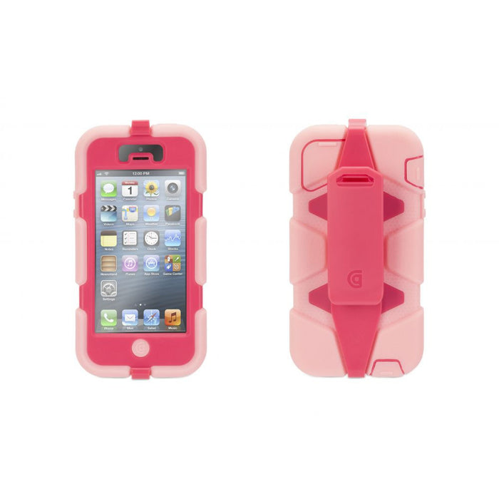 Griffin Survivor All-Terrain Case for Apple iPhone 5/5s/SE in Pink/Light Pink