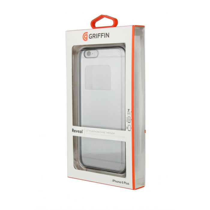Griffin Reveal Case for Apple iPhone 6 Plus/6s Plus in Black/ Clear