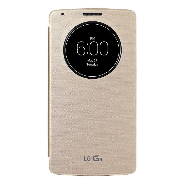 LG Window Circle Folio Case for LG G3 Case in Rose Gold