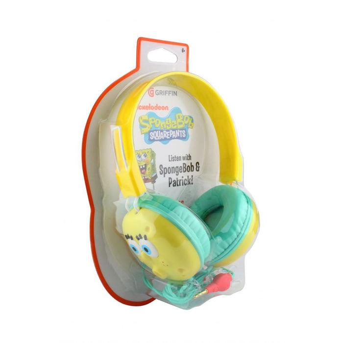 Griffin Nickelodeon® SpongeBob  Headphones in Yellow