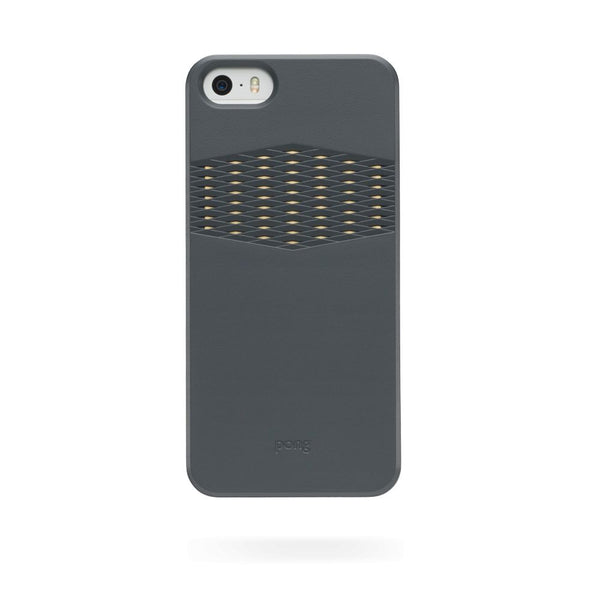 Pong Classic Case for Apple iPhone 5/5s/SE in Charcoal Black