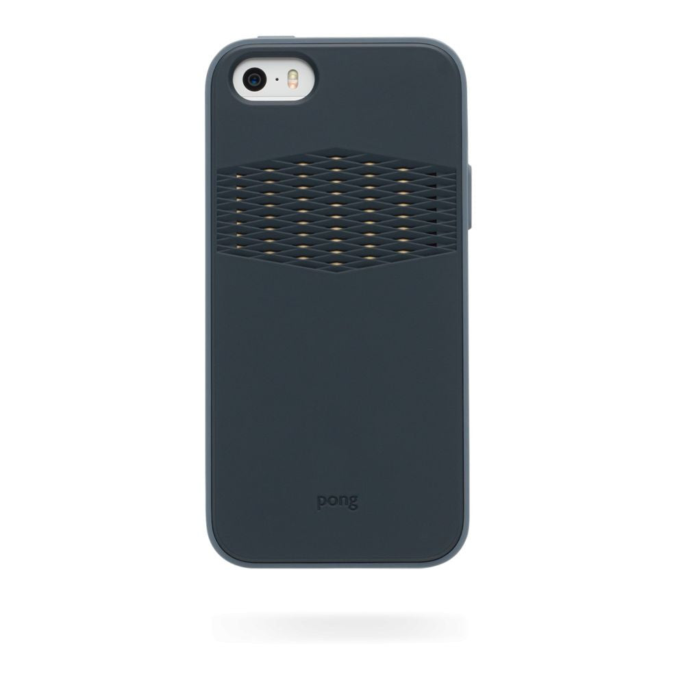 Pong Rugged Case for Apple iPhone 5/5s/SE in Charcoal Black