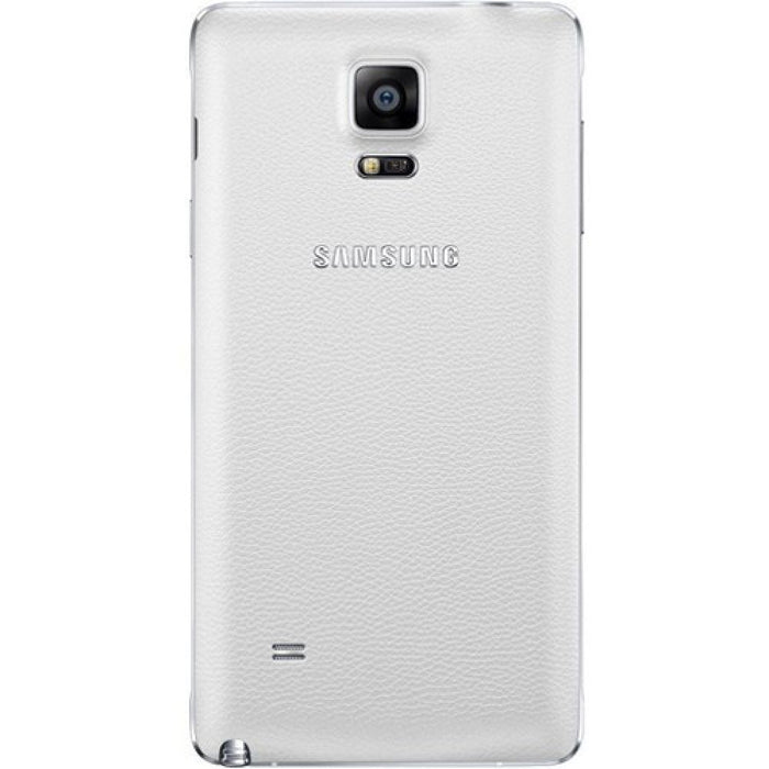 Samsung Battery Cover Case for Samsung Galaxy Note 4 in White