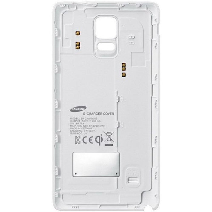 Samsung Wireless Charging Case for Samsung Galaxy Note 4 in White