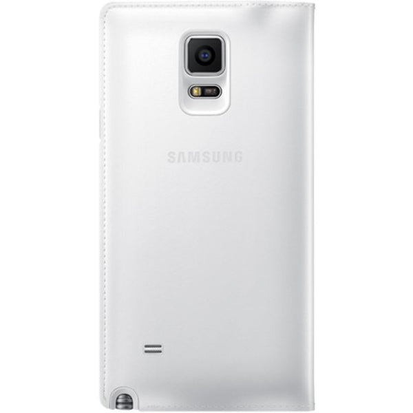 Samsung S View Flip Case for Samsung Galaxy Note 4 in Classic Edition White