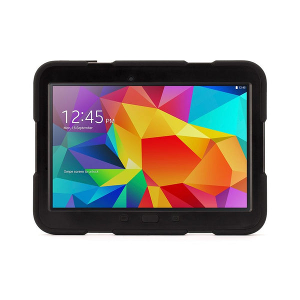 Griffin Survivor All-Terrain Case for Galaxy Tab 4 10.1 in Black