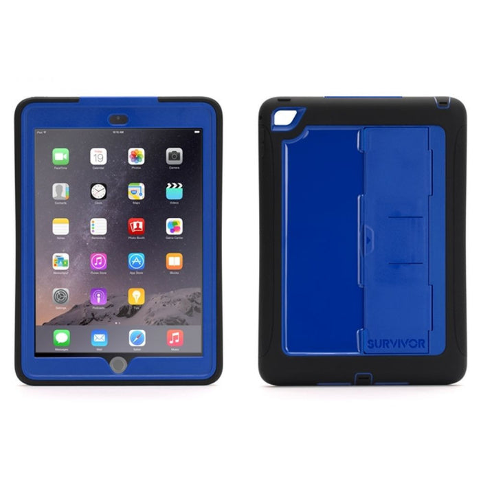 Griffin Survivor Slim Case for Apple iPad Air 2 in Black/Blue