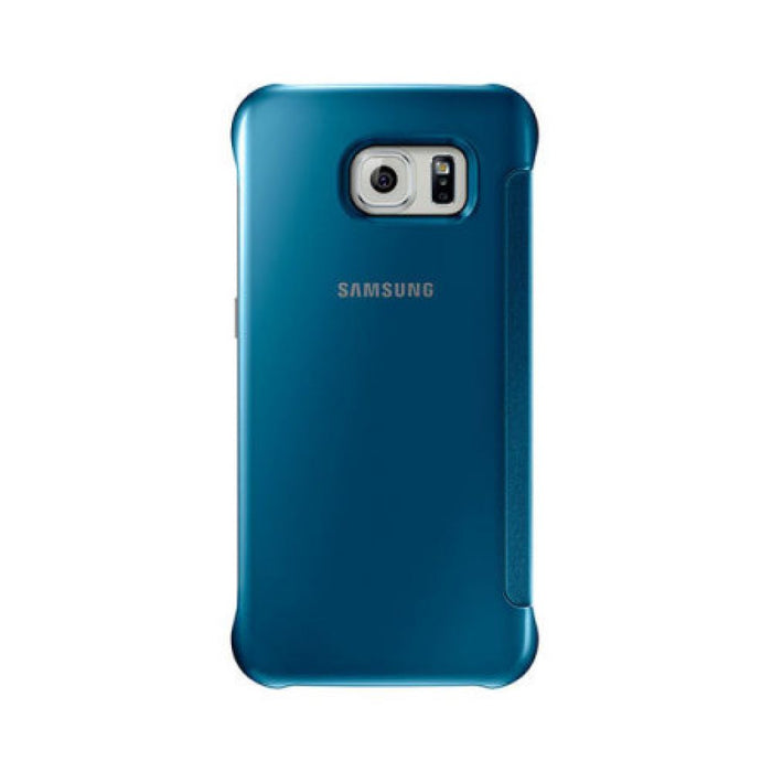 hot sale online 32709 9bcfd Samsung Clear View Case for Samsung Galaxy S6 in Blue