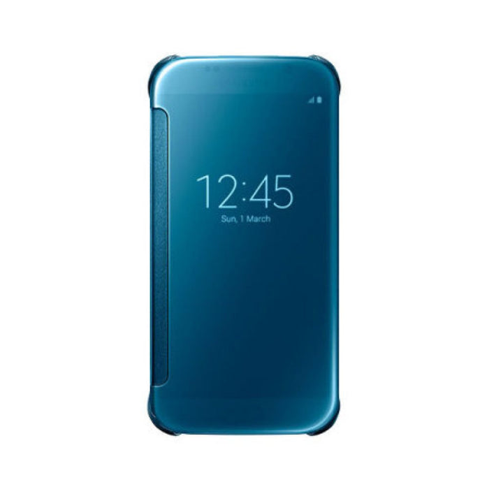 Samsung Clear View Case for Samsung Galaxy S6 in Blue