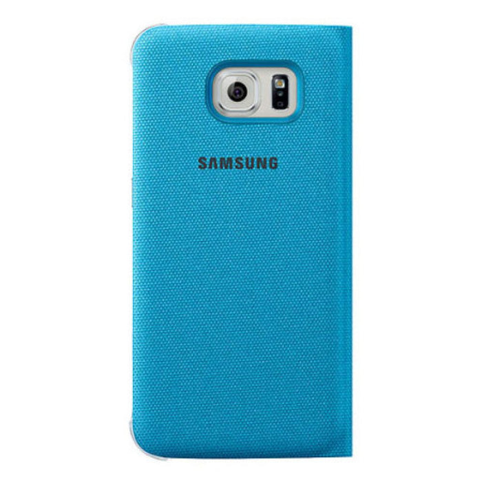 Samsung S View Fabric Premium Case for Samsung Galaxy S6 in Blue
