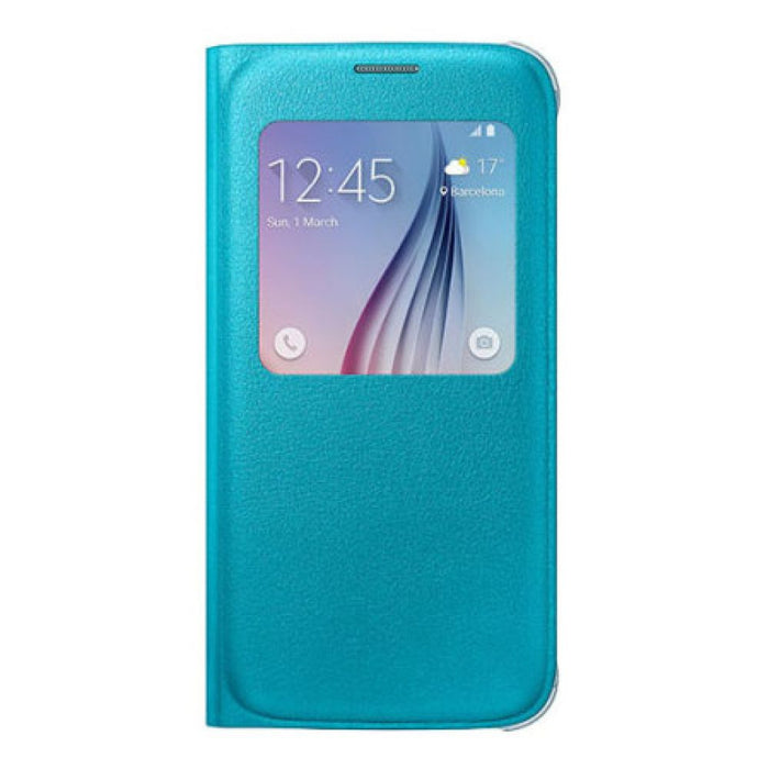 Samsung S View Premium Case for Samsung Galaxy S6 in Blue
