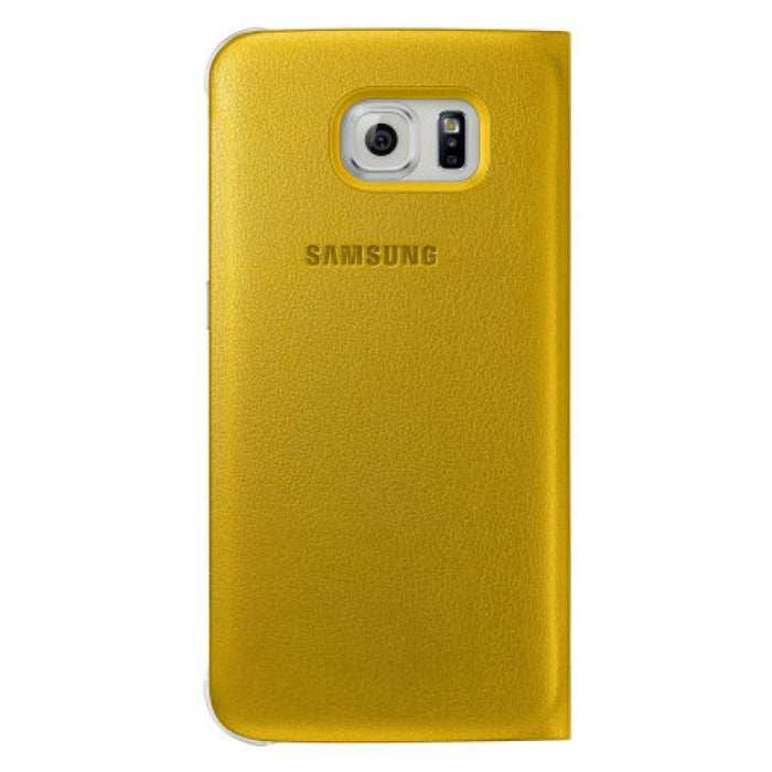 Samsung S View Premium Case for Samsung Galaxy S6 in Yellow