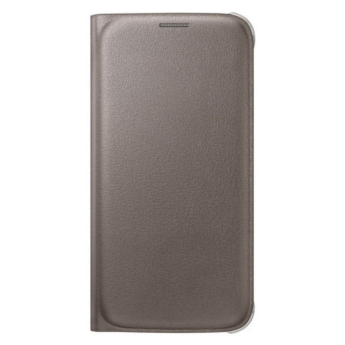 Samsung Flip Wallet Case for Samsung Galaxy S6 in Gold