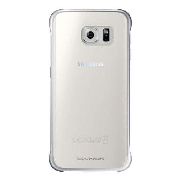 Samsung Clear Cover Case for Samsung Galaxy S6 Edge in Silver
