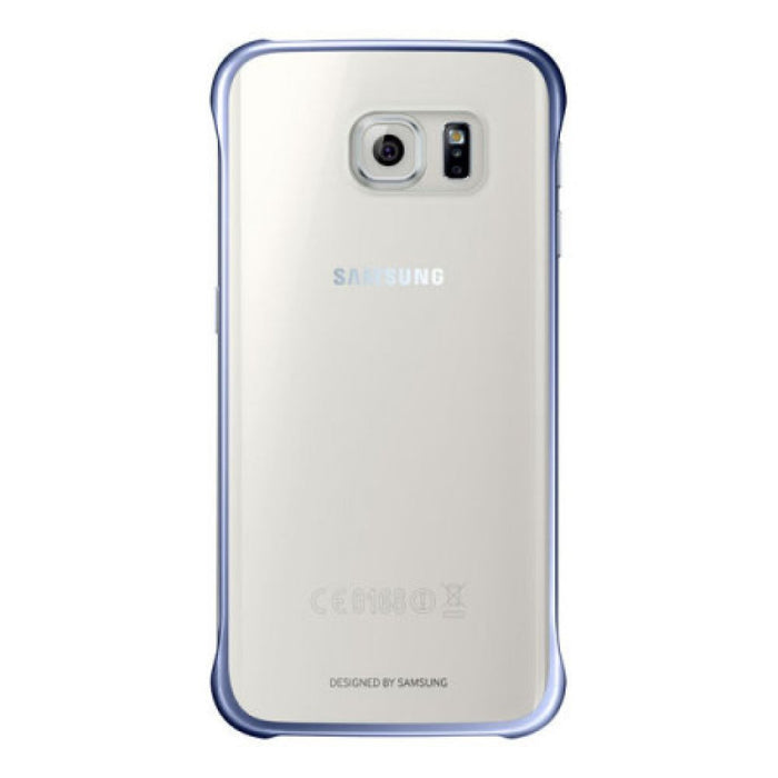 pick up cb09b 67ad6 Samsung Clear Cover Case for Samsung Galaxy S6 Edge in Dark Blue