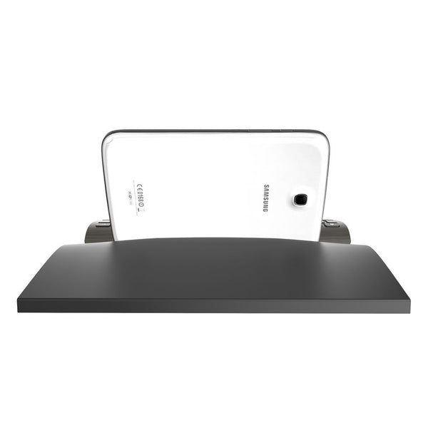 Zagg Universal Wireless Bluetooth Tablet Keyboard and Stand in Black