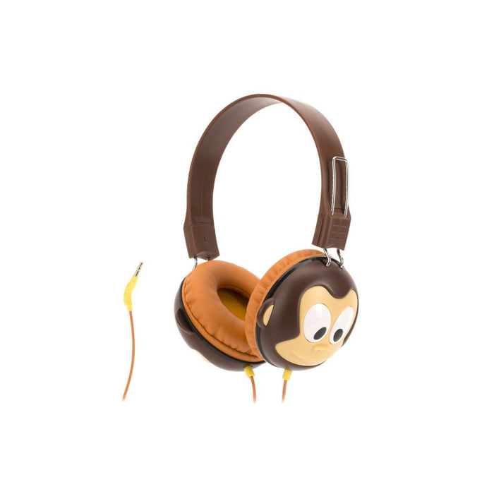 Griffin KaZoo Headphones for Kids with limited sound in Monkey