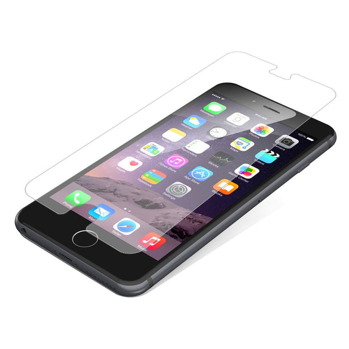 Zagg InvisibleShield Glass Screen Protector for Apple iPhone 6 Plus/6s Plus in Clear